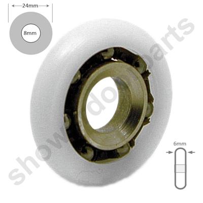 Replacement Shower Roor Rollers Wheels